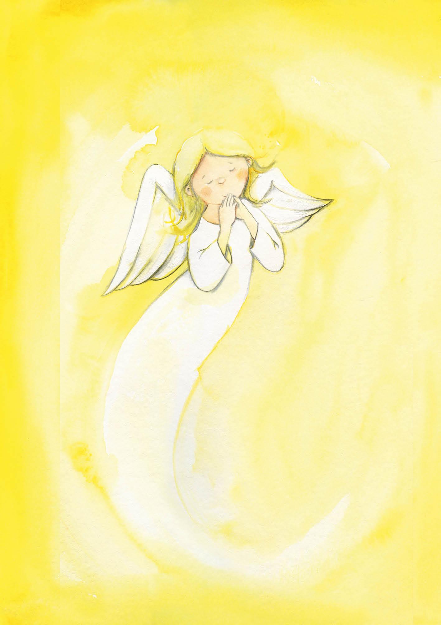 Klappkarte - Ein Engel, der dich liebt und schützt