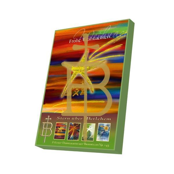 Kartenbox - Stern über Betlehem