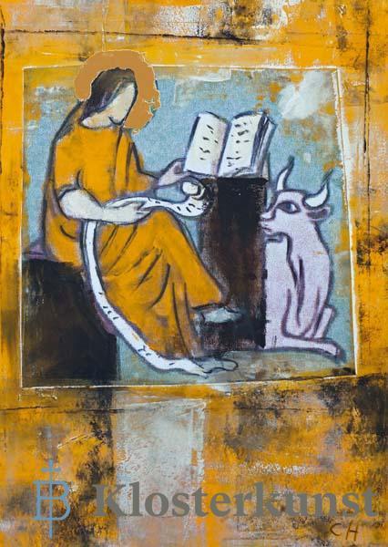Kunstkarte - Evangelist Lukas