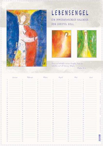 Immerwährender Kalender, Format A3