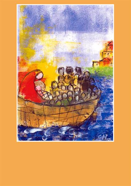 Pfarrbriefmantel - Gott wird in der Armut Mensch