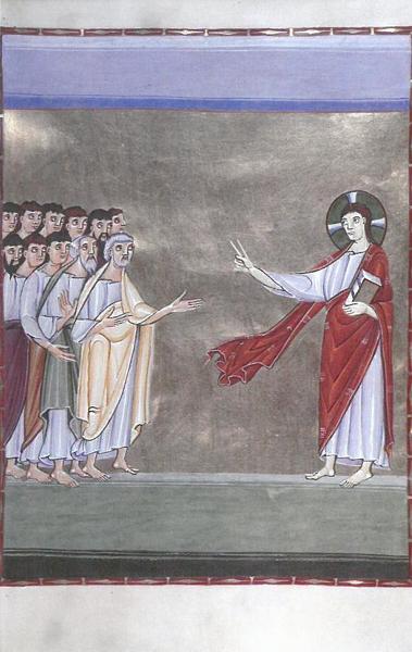 Bildchen - Jesus spricht zu den Jüngern