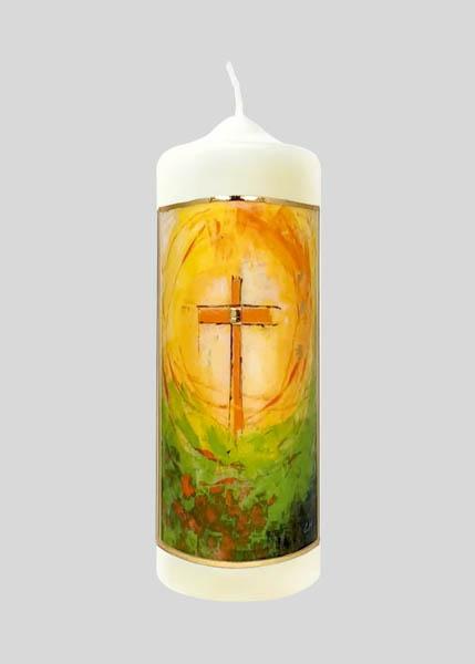 Kerze - Ostern lässt das Leben strahlen