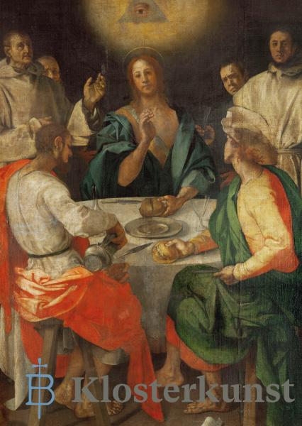 Kunstkarte - Christus in Emmaus