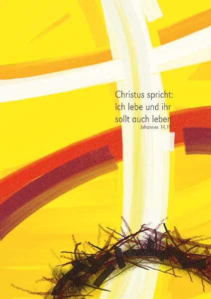 Klappkarte - Beim Herrn ist Leben