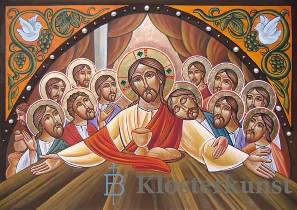 Klappkarte - Mit Christus vereint