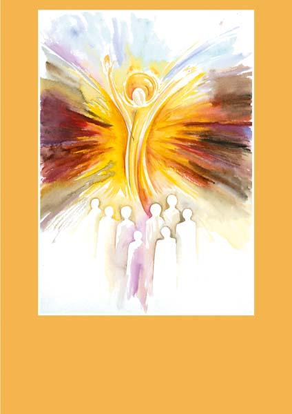 Pfarrbriefmantel - Auferstehung sprengt alle Grenzen
