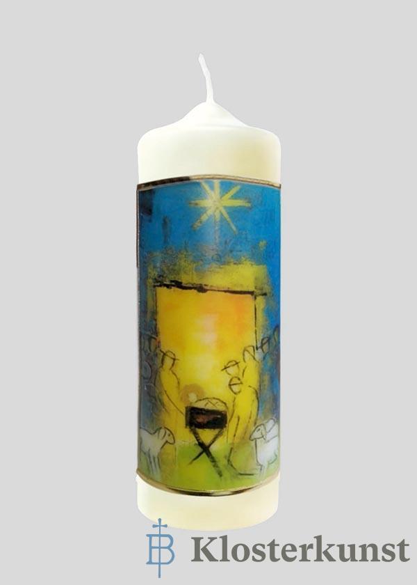 Kerze - An Weihnachten miteinander verbunden