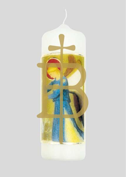 Kerze - Erzengel Raphael