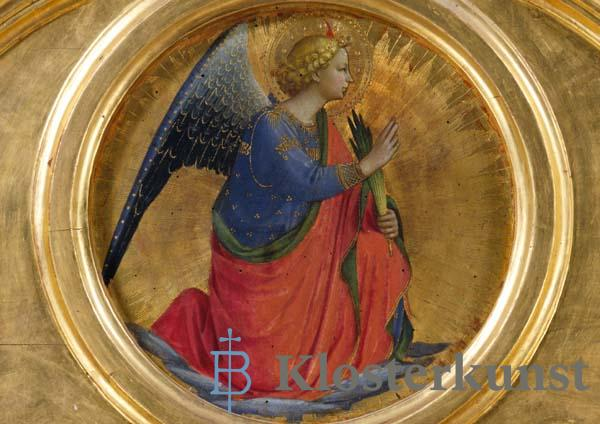 Klappkarte - Engel der Verkündigung