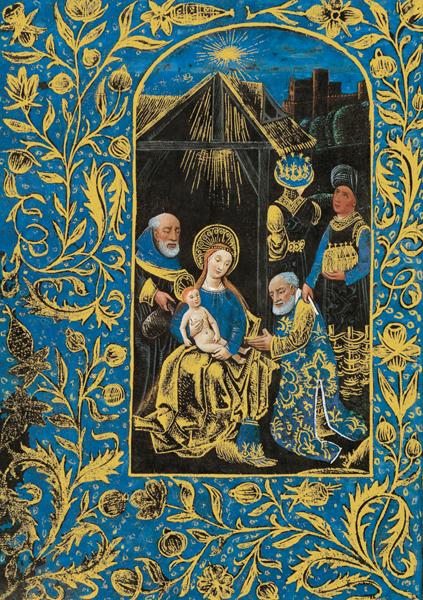 Kunstkarte - Anbetung der Könige