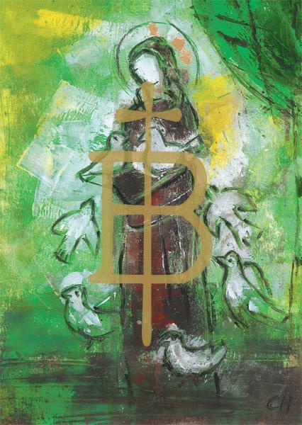 Kunstkarte - Heiliger Franziskus