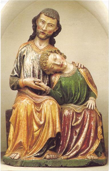 Bildchen - Christus und Johannes