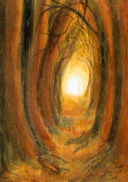 Klappkarte - Tröstliches Licht für die Seele