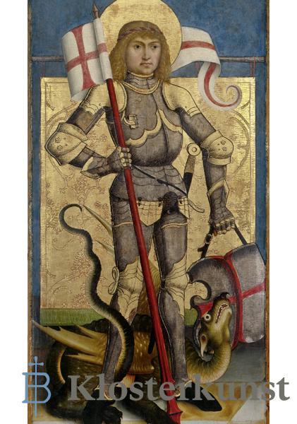 Kunstkarte - Heiliger Georg