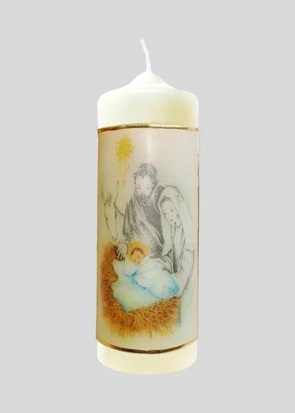 Kerze - Eins in Erfurcht und Liebe