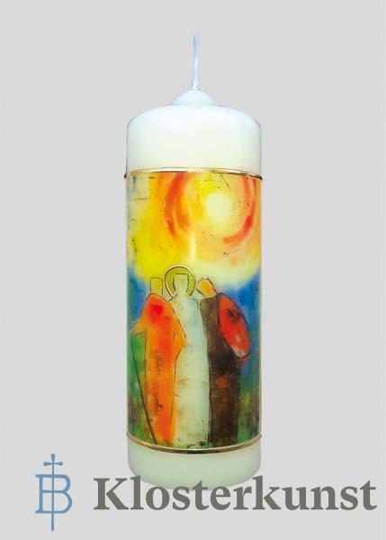 Kerze - Bleibe bei uns