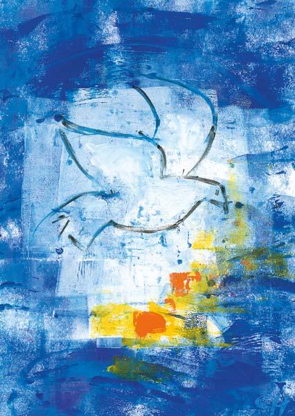 Kunstkarte - Geist der Stärke