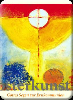 Deko Magnet - Gottes Segen zur Erstkommunion