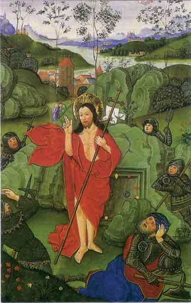 Bildchen - Auferstehung Jesu