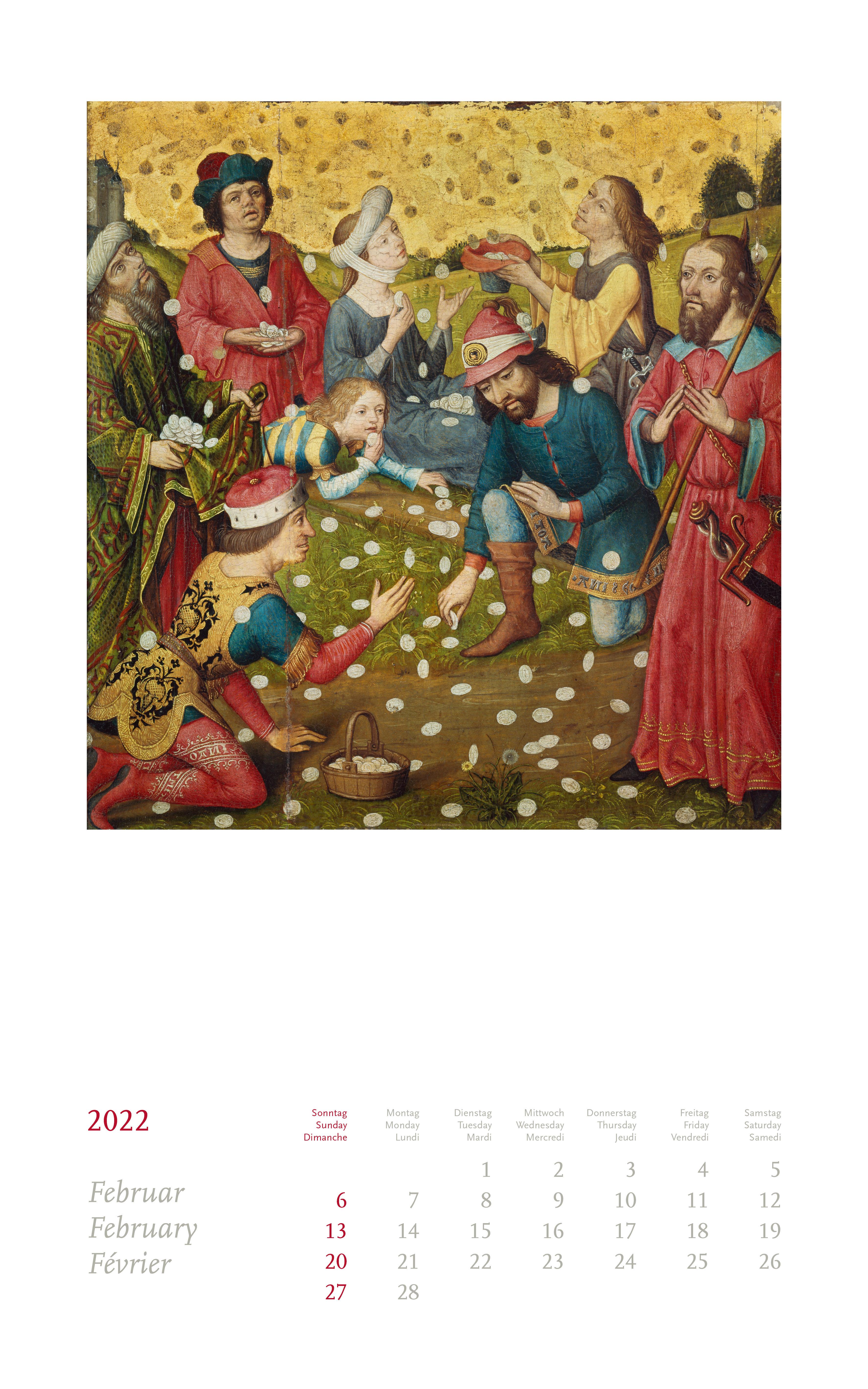 Beuroner Kunstkalender 2022