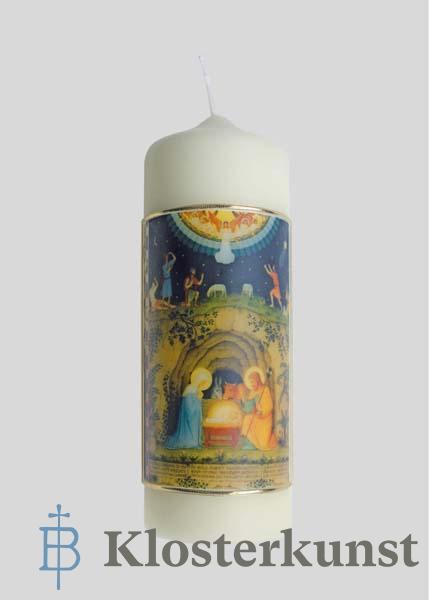 Kerze - Geburt Christi