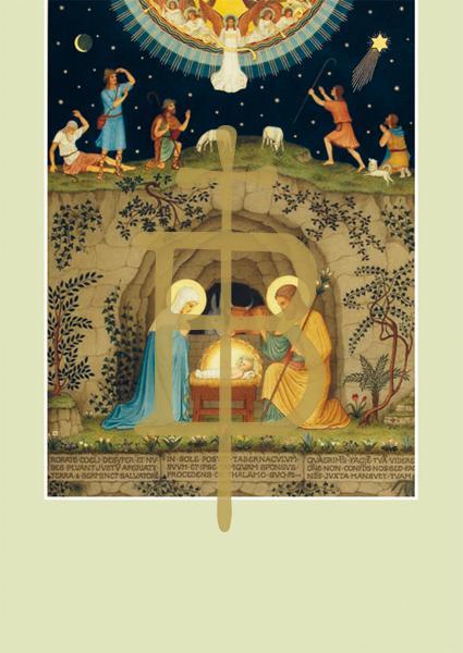Pfarrbriefmantel - Geburt Christi