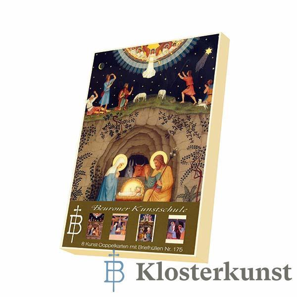 Kartenbox - Weihnachtsbilder aus der Beuroner Kunstschule