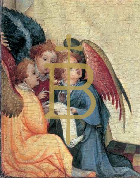 Kunstkarte - Drei Engel