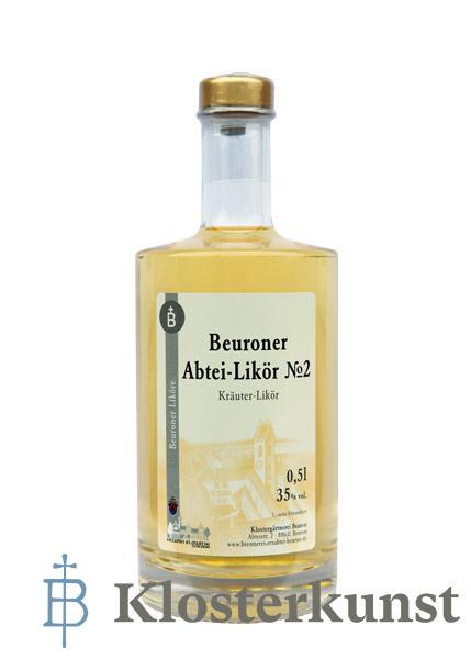Likör: Beuroner Abtei-Likör No2 - 0,5 ltr.