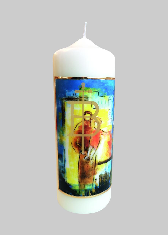 Kerze - Heiliger Josef