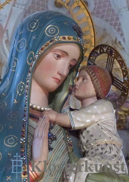 Kunstkarte - Beuroner Madonna