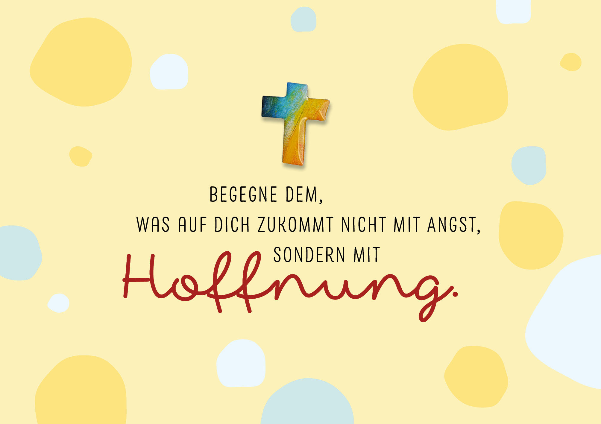 Pin-Cards - Hoffnung
