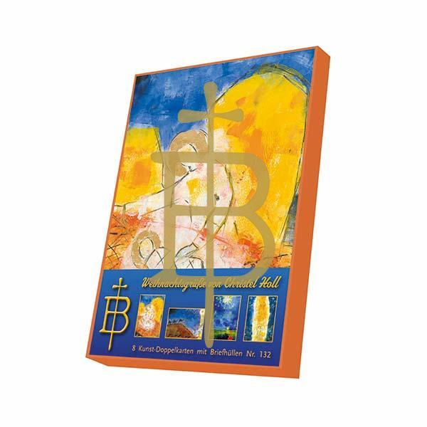 Kartenbox - Weihnachtsgrüße von Christel Holl