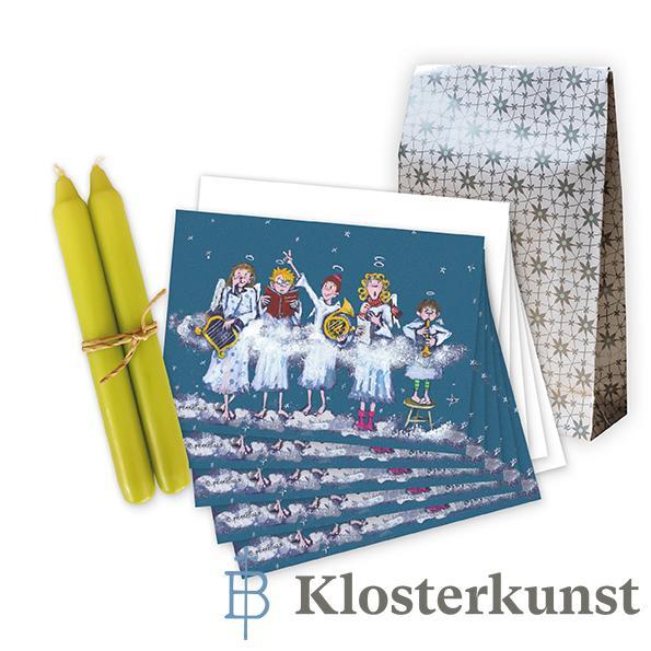 """Geschenk-Set """"Himmlische Weihnachtsgrüße"""""""