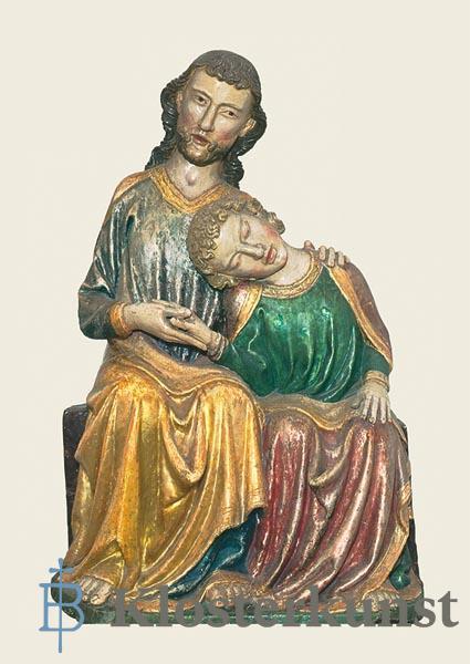 Kunstkarte - Christus und Johannes