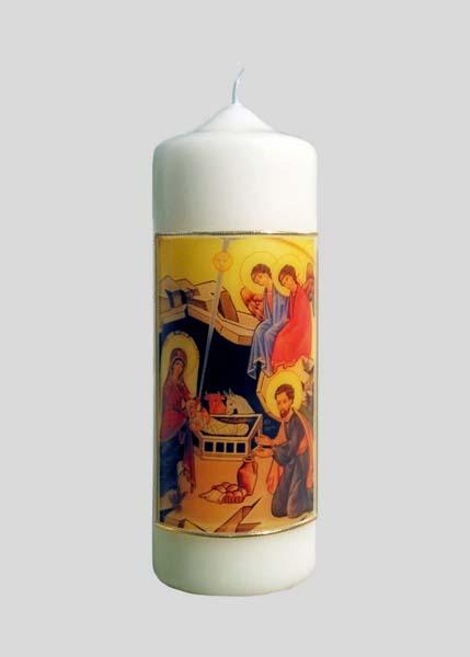 Kerze - Die Geburt Christi