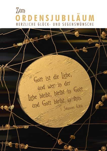 Klappkarte - Gott ist die Liebe