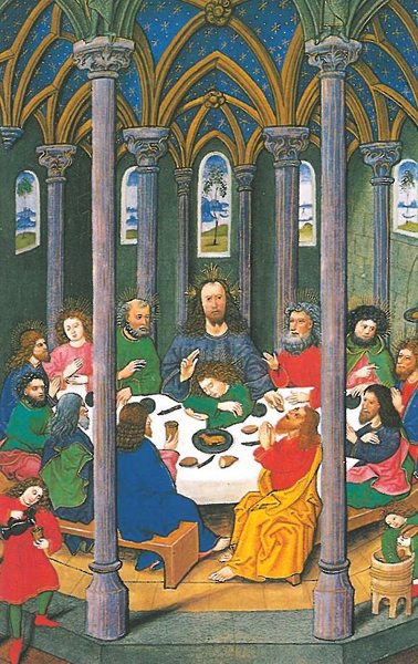 Bildchen - Abendmahl